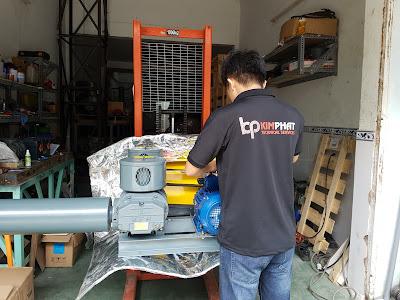 Sửa chữa và bảo dưỡng máy thổi khí chất lượng