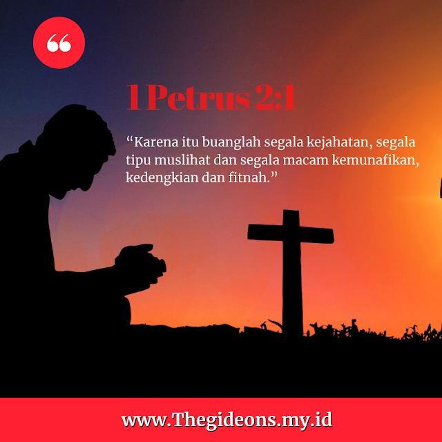JANGAN BIARKAN KEMUNAFIKAN BERSARANG! - Renungan Kristen hari ini