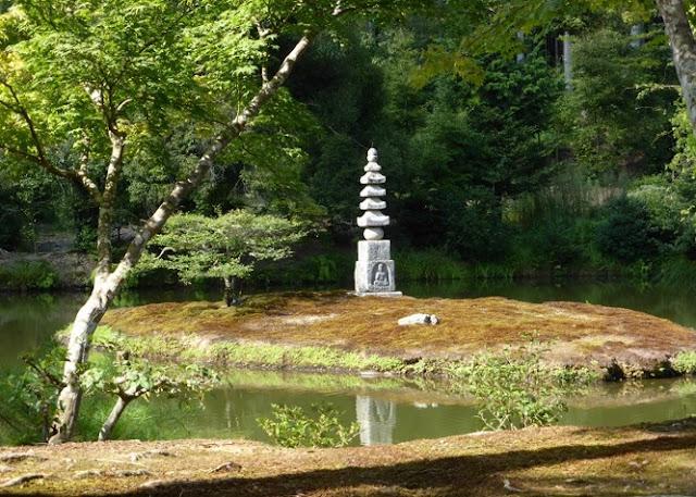 Templo Kinkakuji, jardines