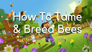 bees in minecraft
