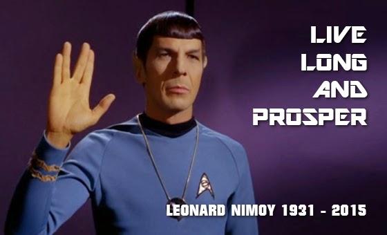 In Memoriam: Leonard Nimoy Live Long and Prosper