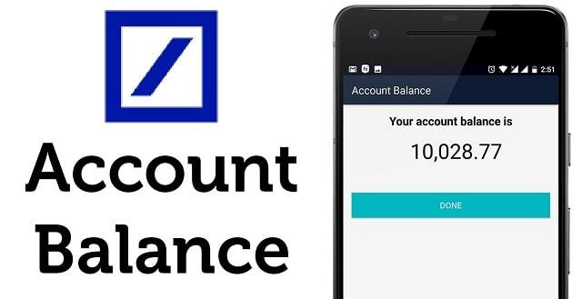 how to check bank account balance