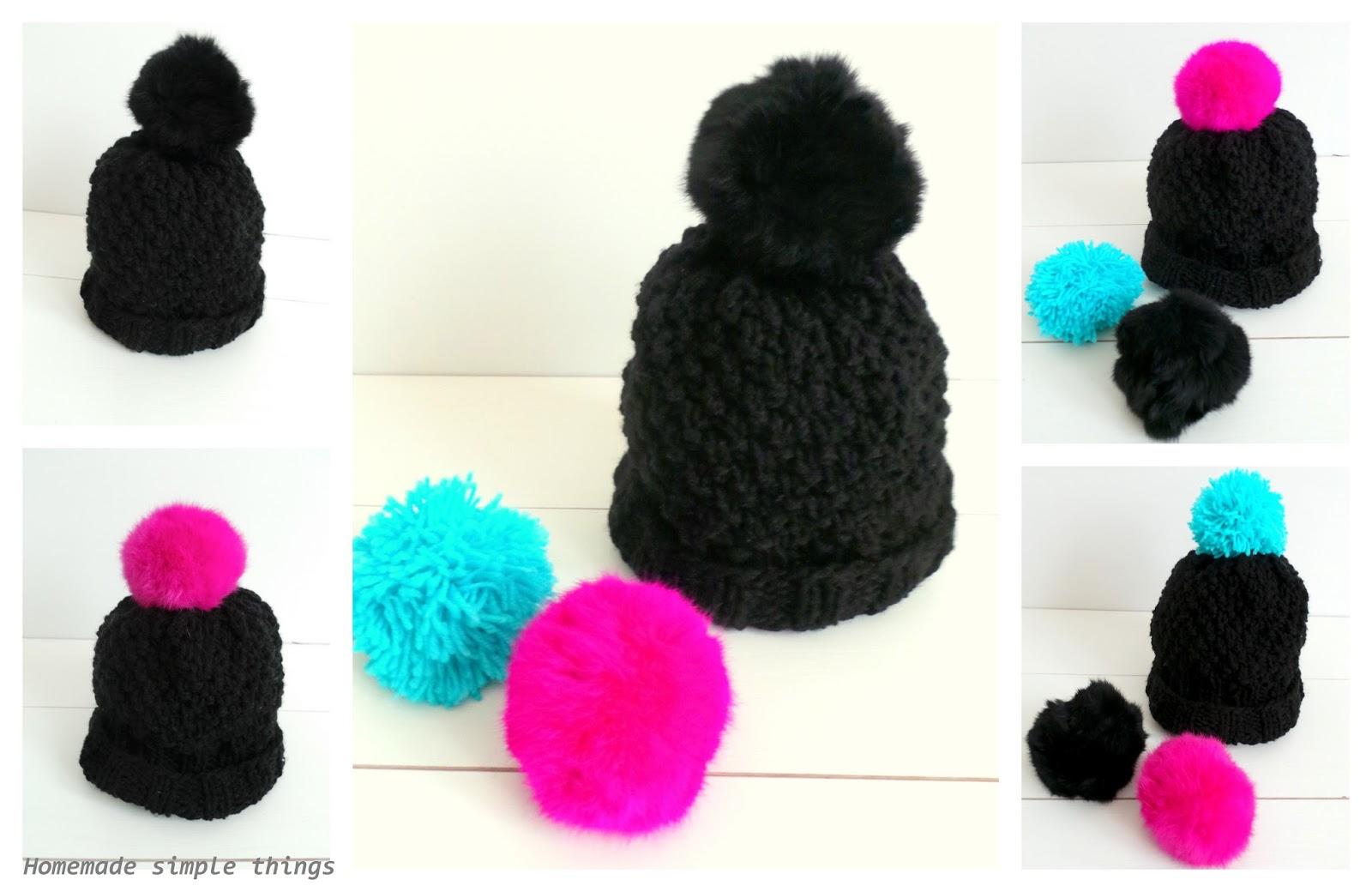 vif et grand en style belle qualité où puis je acheter Homemade simple things: Bonnet en grosse laine Tuto / DIY ...