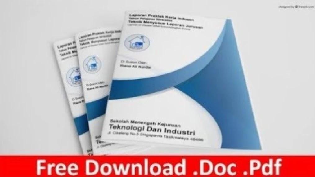 Laporan Prakrin Doc Cara Mudah Membuat Laporan Pkl Multimedia Lengkap Templatekita Com