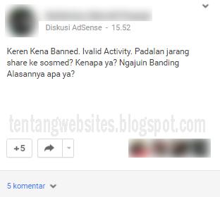 penyebab akun AdSense us hasil bug di banned