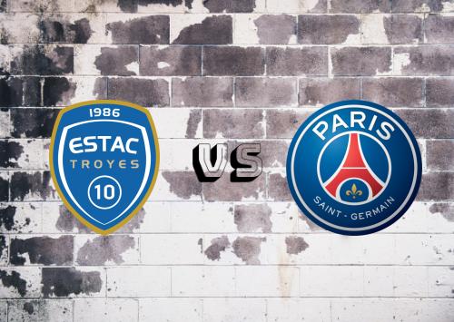 Troyes vs Paris Saint-Germain  Resumen y Partido Completo