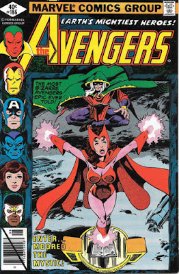 Avengers #186, the Scarlet Witch