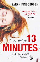 13 Minutes, by Sarah Pinborough book cover and review
