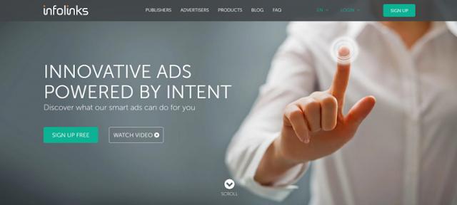 Infolinks best google adsense alternatives in 2021 to make money online
