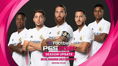 Real Madrid Graphic Menu PES 2021