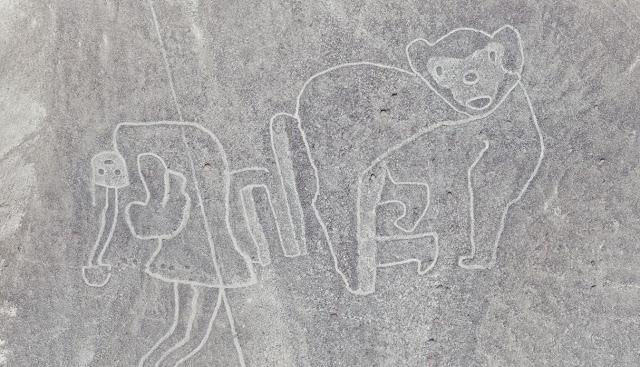 Lineas de Palpa, geoglifos lineas de Palpa, desierto de Nazca