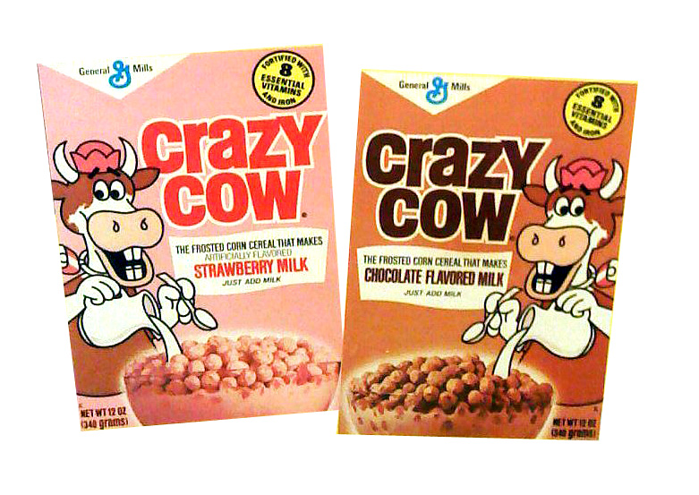 Gone But Not Forgotten Groceries: From the Cereal Aisle: Crazy Cow