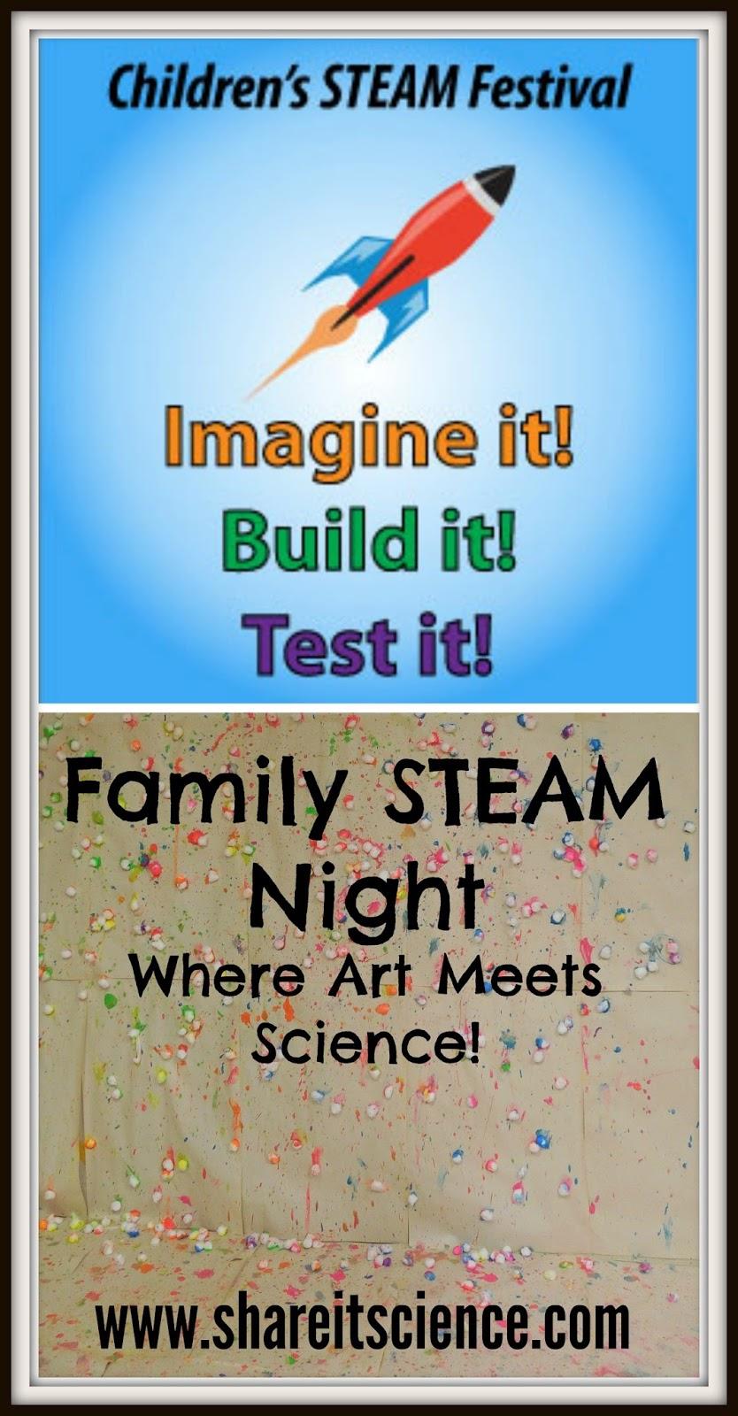 Share it! Science : Children's STEAM Festival: Family STEAM Night