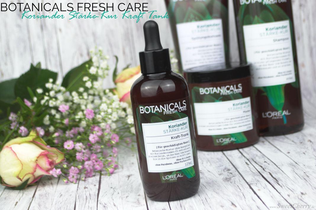 L'Oréal Paris Botanicals Fresh Care Koriander Stärke-Kur Kraft Tank Pflege