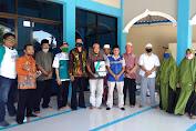 PPWI Magetan bersama LAZ Nurul Hayat Salurkan Bantuan Renovasi Masjid