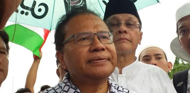 Rizal Ramli: Indonesia Sejak Awal Ingin Perjuangkan Kemerdekaan Palestina