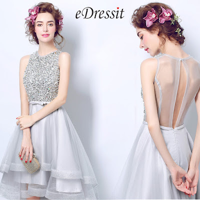 Fashion Beaded Top Layer Skirt Party Ball Dress