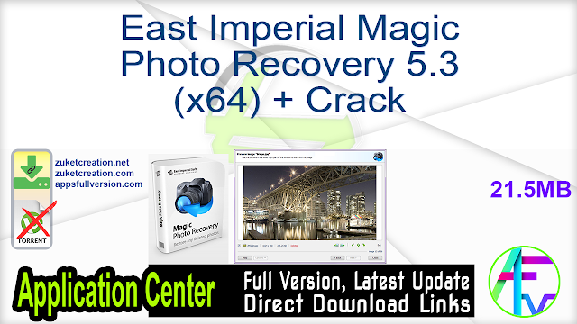 East Imperial Magic Photo Recovery 5.3 (x64) + Crack