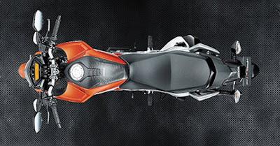 New 2016 Honda CB Hornet 160R Top view