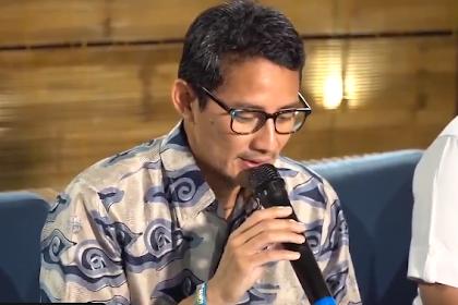 Ketua IPW: Saya dapat info A1 Sandiaga Uno jadi menteri Jokowi