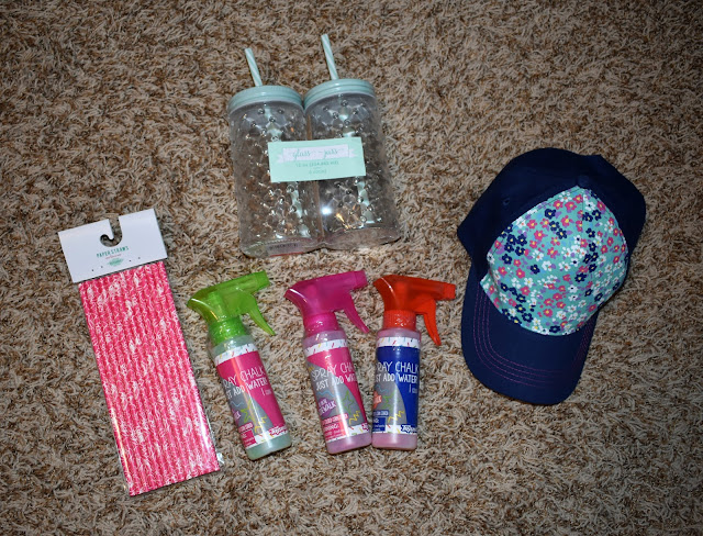 $10 at Target: Gearing Up for Summer  |  Join us for our monthly link up party on the third Monday of each month and see what we got for $10 at Target!