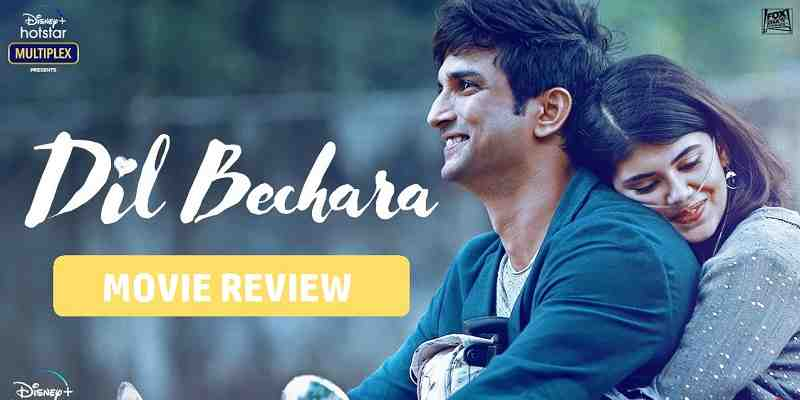 Dil Bechara Movie Review Poster
