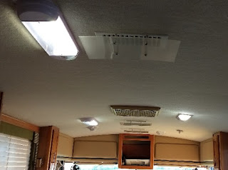 ceiling in a motorhome