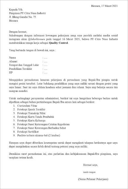 contoh-application-letter-untuk-quality-control-(fresh-graduate)-berdasarkan-informasi-dari-media-sosial