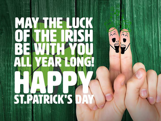 May the luck of the Irish be with you all year long!