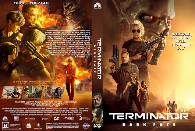Terminator: Dark Fate DVD Cover