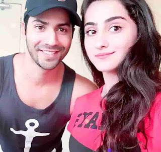 Diana Khan With Varun Dhawan
