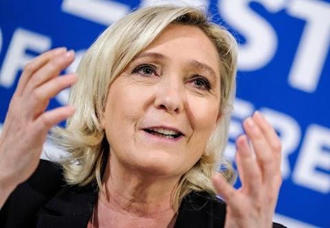 Észtországban kampányolt Marine Le Pen