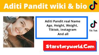 Aditi Pandit Wiki