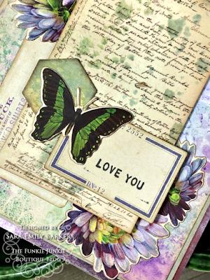 Sara Emily Barker https://sarascloset1.blogspot.com/2020/08/a-stenciled-mum-card-for-mom.html #stampersanonymous Mixed Media Card 2