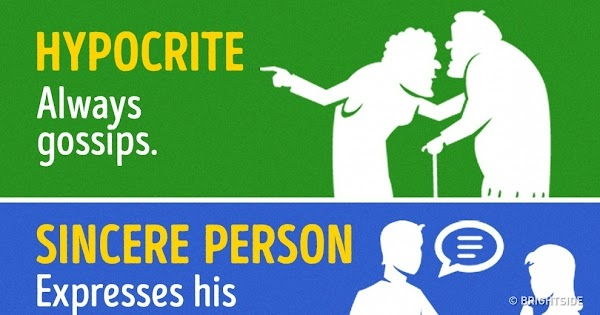 8 Signs That Can Help You Distinguish a Sincere Person From a Hypocrite