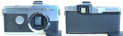 Olympus Pen FT (Chrome) Body #814