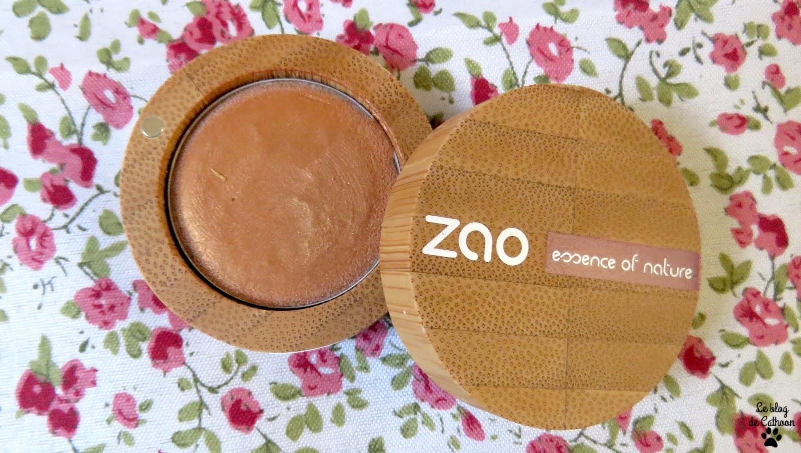 Ombre à Paupières Crème Bio - 254 Bronze Doré - Zao