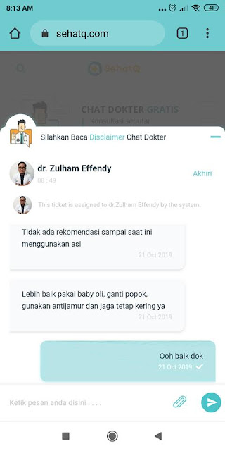 fitur chat dokter sehatq.com