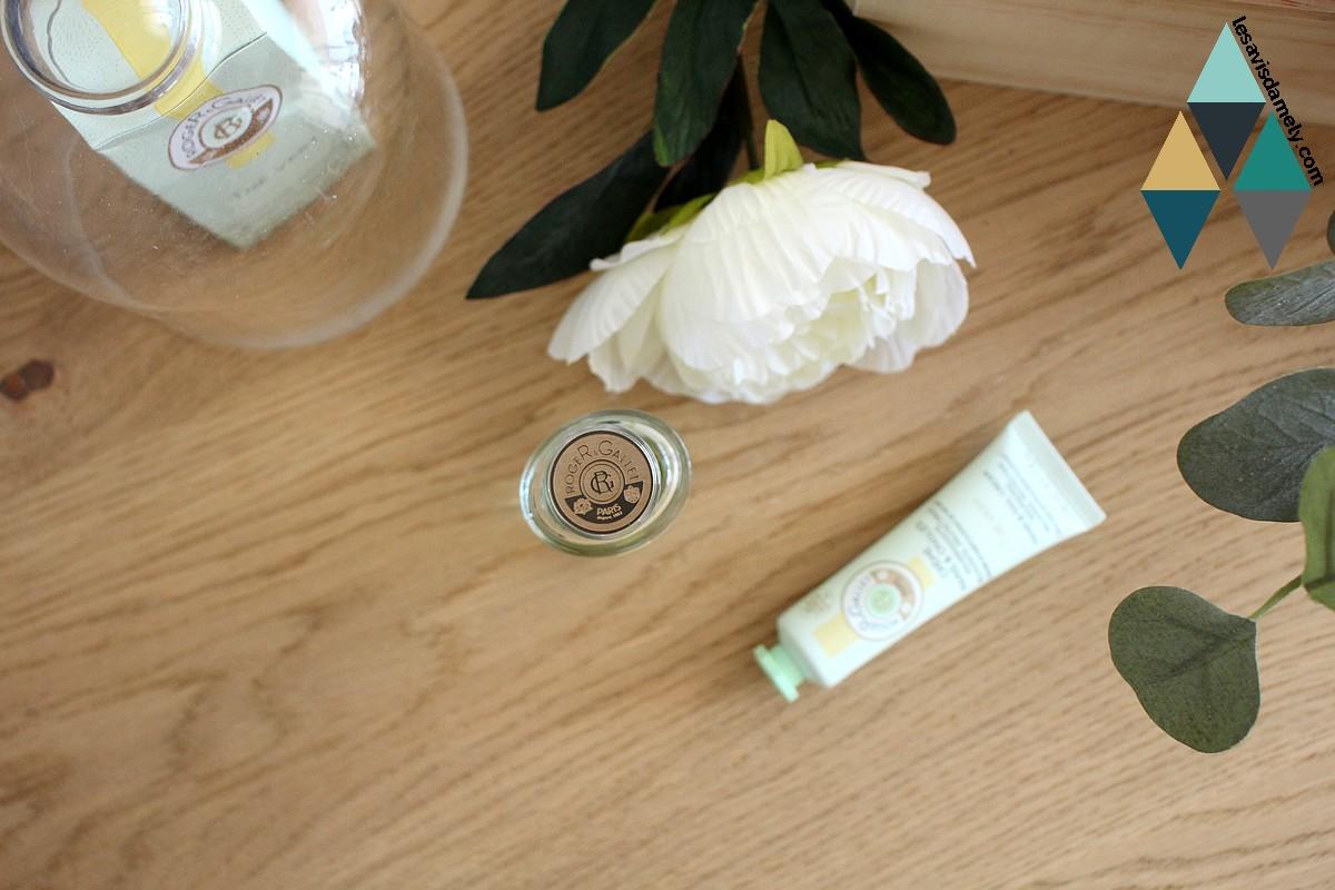 revue et test rituel parfumé thé vert roger et gallet