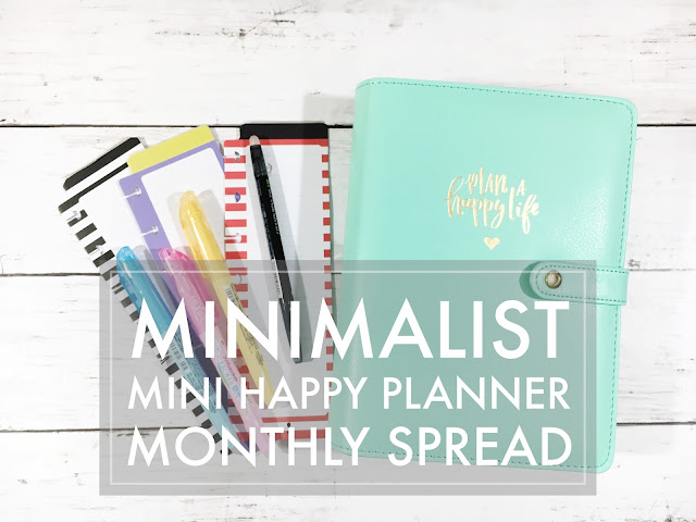 Minimalist Mini Happy Planner