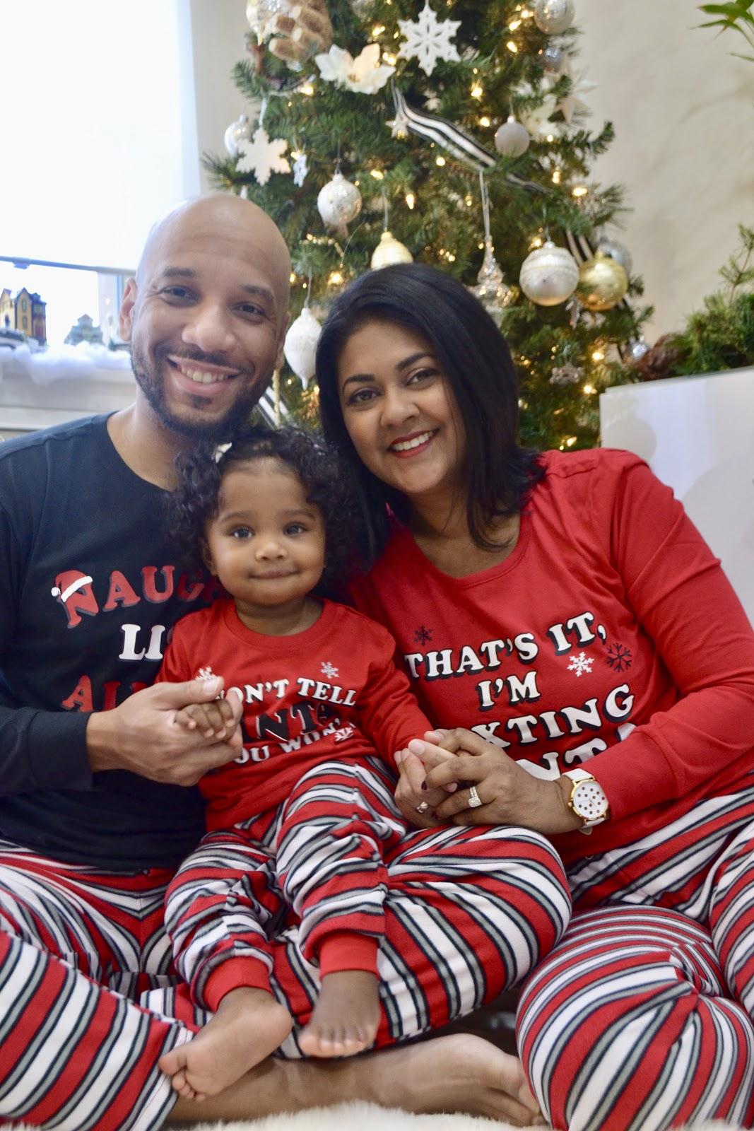 Christmas pajamas for the family