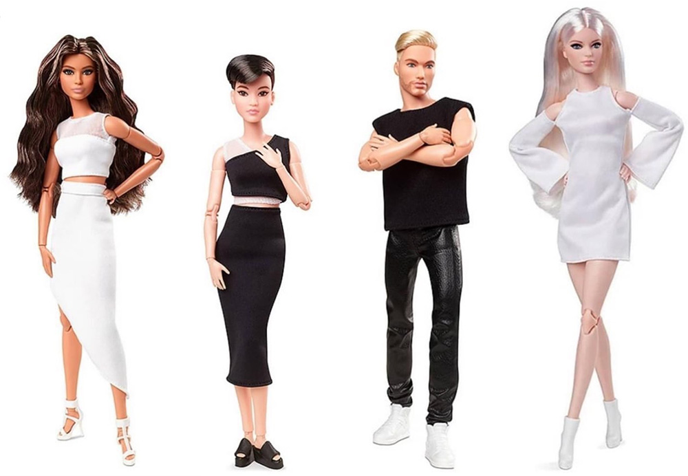 Персонажи Barbie Looks Collection 2021