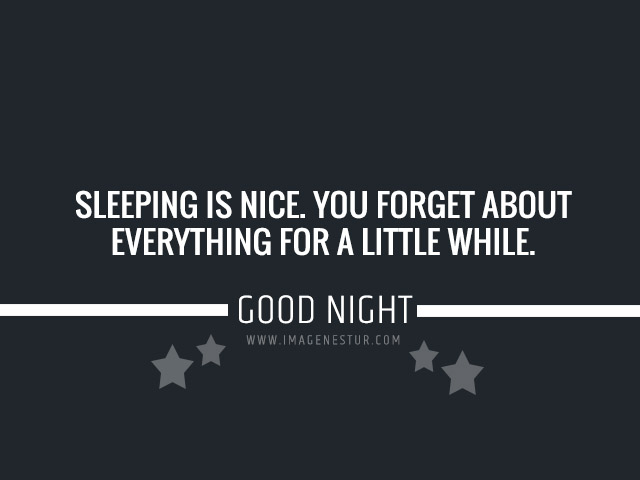 sweet dreams good night quotes