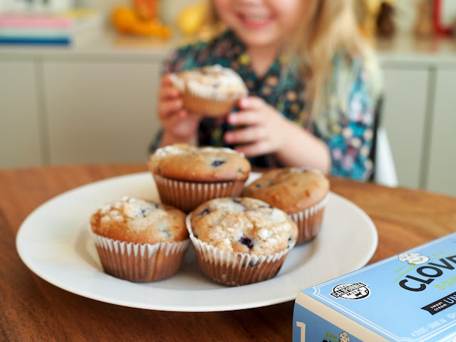 our latest baking fun resulted in delicious blueberry and cream cheese muffins theyu0027re so good that i just had to share the recipe with you all