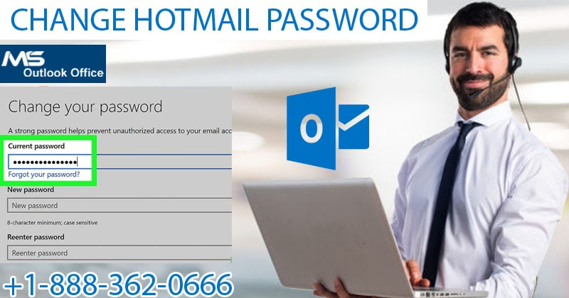 How Can I Change Hotmail Password? Take Experts' Advice