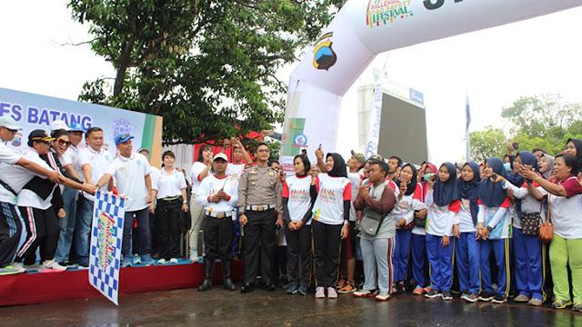 Dandim Batang Hadiri Acara Millennial Road Safety Festival Polres Batang