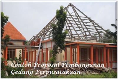 Contoh Proposal Pembangunan Gedung Perpusatakaan