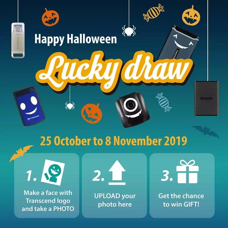 Transcend Halloween Raffle 2019
