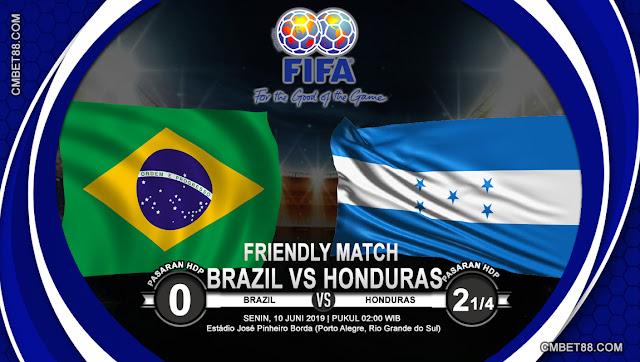 Prediksi Bola Tottenham Brazil VS Honduras