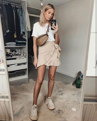 Outfit minimalista de verano